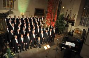 Runebergskören BSB Porvoon tuomiokirkossa 15.12.2012