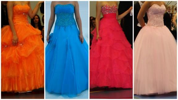 Erilaisia mekkojen helmoja.