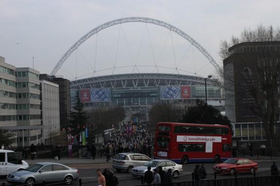 Wemley -stadion Lontoossa.