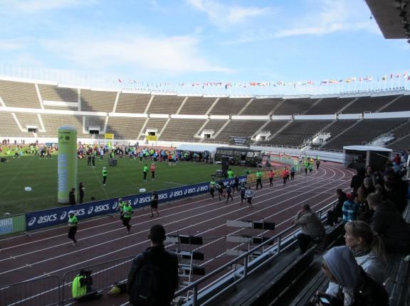 Loppusuora Olympia Stadionilla