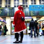 Reaktio: Joulupukit hämmensivät Helsingissä