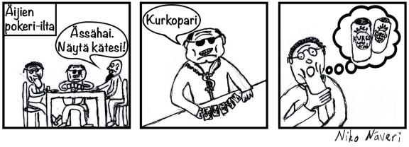 Sarjakuva_Kurkopari