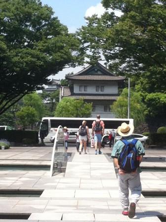 Keisarin palatsi on suosittu turistikohde.