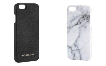 1) Michael Kors kännykän suojakuoret 40,00€ , Stockmann 2) Suojakuoret 6,99€ , H&M