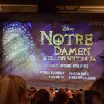 Notre Damen Kellonsoittaja –   Kuka olisi arvannut, että musikaalit voivat olla hauskoja?